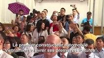 La toute 1ère voiture de marque vietnamienne s'apprête à rouler