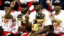 Toronto Raptors celebrate first NBA title, defeating Golden State Warriors
