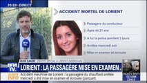 Lorient: la passagère du chauffard est mise en examen et écrouée