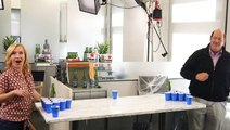 How to play beer pong with Angela and Kevin from 'The Office'