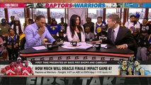 Game 6 predictions- Stephen A. picks the Warriors, Max takes the Raptors - First Take
