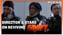 SHAFT Movie | Interviews With Tim Story, Samuel L. Jackson,  Regina Hall, and More!