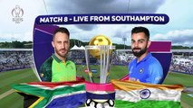 Rohit Hundred Seals Win - South Africa vs India - ICC Cricket World Cup 2019 - Match Highlights