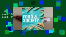 Full version  Food and Society: Principles and Paradoxes  Review