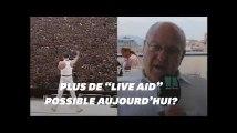 """Les concerts humanitaires comme """"Live Aid"""" sont aujourd'hui impossibles d'après son organisateur"""
