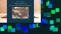 Review  Why Did You Leave the Horse Alone? - Mahmoud Darwish