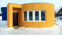 House Built by 3D Printer in 24 Hours