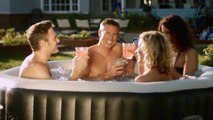 Portable, Inflatable Hot Tub - Intex PureSpa Deluxe - Nice!
