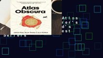 About For Books  Atlas Obscura: An Explorer's Guide to the World's Hidden Wonders  Best Sellers