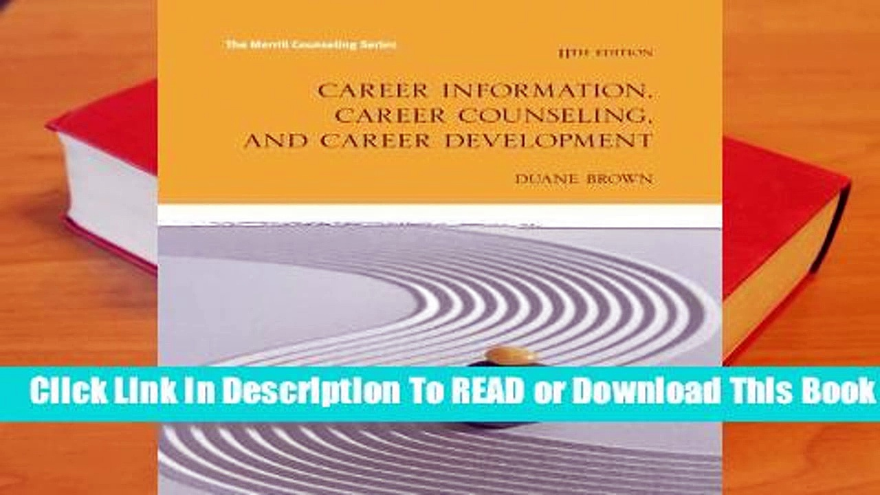 Full version  Career Information, Career Counseling and Career Development  Review