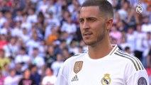 Eden Hazard presentantion for Real Madrid 2019