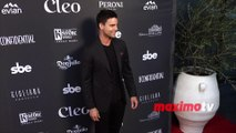 """Colin Egglesfield """"Cleo Hollywood"""" Grand Re-Opening Red Carpet"""