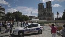 Notre Dame celebra su primera misa tras el incendio