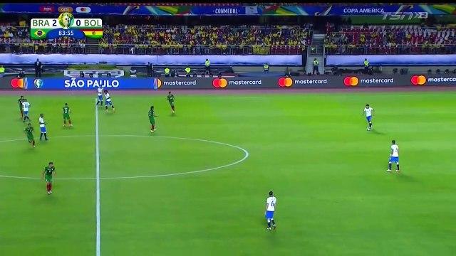 Brazil 3-0 Bolivia - Everton goal