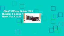 GMAT Official Guide 2020 Bundle: 3 Books + Online Question Bank  For Kindle