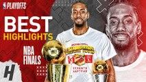 Kawhi Leonard Full MVP Series Highlights vs Warriors - 2019 NBA Finals
