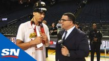 Two Stops, Two NBA Championships For Raptors' Danny Green