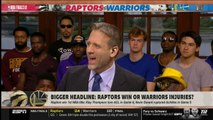 First Take - Stephen A. Smith reacts to Raptors def. Warriors 114-110; Kawhi wins Finals MVP