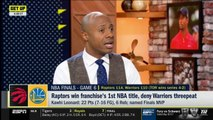 Jay Williams REACTS TO Raptors win franchise's 1st NBA title, deny Warriors threepeat - GET UP