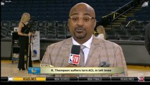 Dennis Scott SHOCKED Klay Thompson suffers torn ACL in Game 6 of NBA Finals