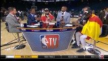 NBA GAMETIME - Fred VanVleet REACTS TO Raptors Defeat the Warriors in Game 6