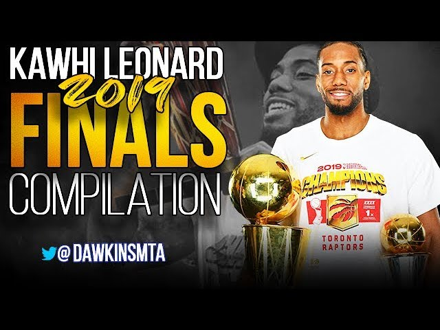 Kawhi Leonard Full 2019 NBA Finals Highlights vs Warriors – FiNALS MVP- – 60 FPS – FreeDawkins