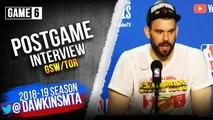 Marc Gasol Postgame Interview - Game 6 - Raptors vs Warriors - 2019 NBA Finals