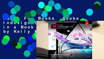 About For Books  Adobe Indesign CC Classroom in a Book (2018 Release) by Kelly Kordes Anton