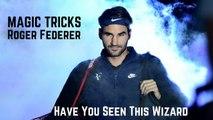Tennis TOP5. Roger Federer - Magic Tricks