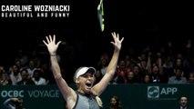 Tennis TOP5 - Funny and Beautiful Caroline Wozniacki