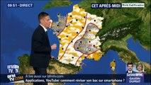 Neuf départements en vigilance orange aux orages ce samedi entre le Massif Central et les Alpes