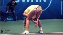 Tennis TOP5 - Caroline Wozniacki SEXY Moments