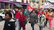Menacé, l'hôpital de Gérardmer mobilise près de 500 personnes dans les rues