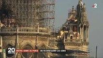 Seulement 9% des dons promis pour la restauration de Notre Dame de Paris ont été versés depuis le terrible incendie