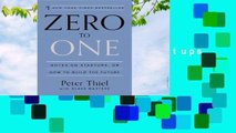 [GIFT IDEAS] Zero to One: Notes on Startups, or How to Build the Future