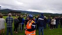 Cérémonie du rassemblement départemental des sapeurs-pompiers des Vosges