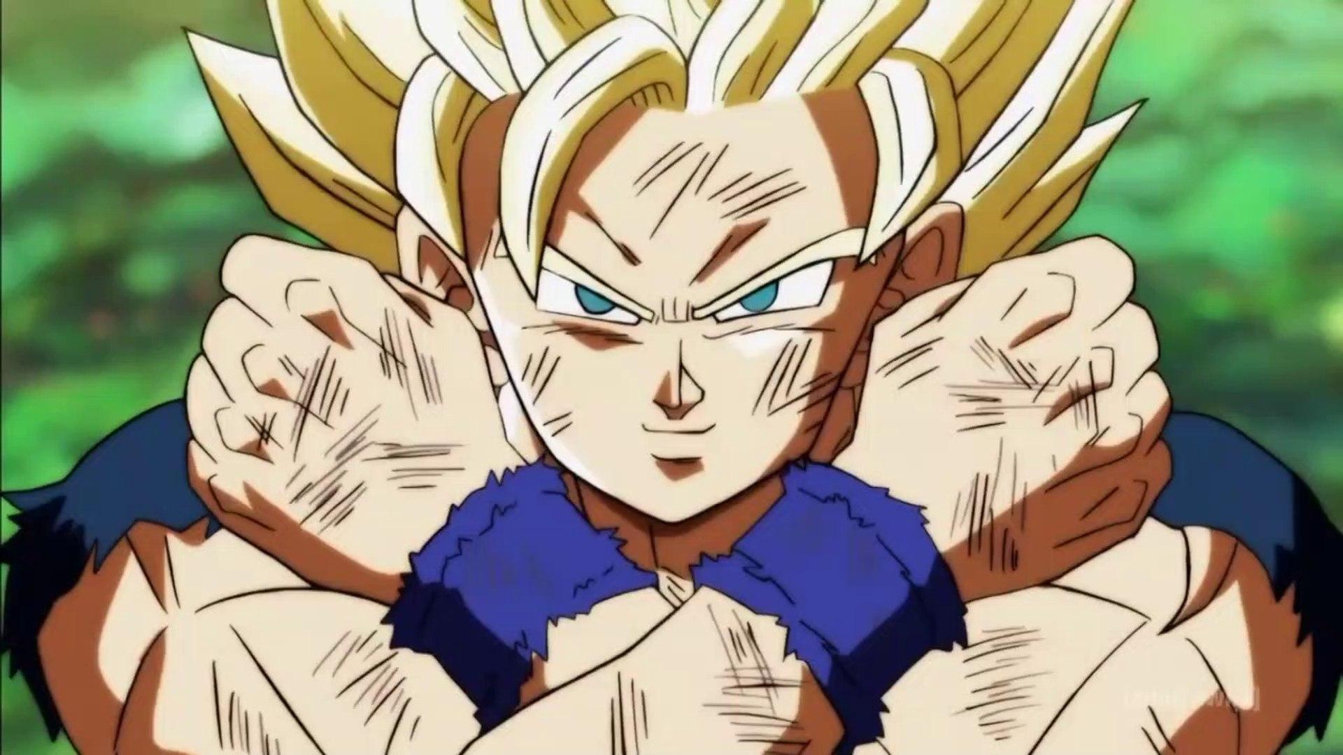 Goku Turn Into Super Saiyan 3 In Tournament Of Power Goku Vs