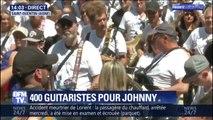 """Record battu à Saint-Quentin (Aisne): 400 guitaristes jouent en coeur """"Toute la musique que j'aime"""""""
