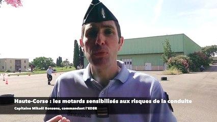 Haute-Corse: Les motards sensibilisés aux risques de la conduite