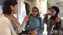 Réalité augmentée  : première expérience pour les visiteurs du château de Fougères