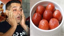 Salman Khan celebrates film Bharat success with having gulab jamun in cheat meal   FilmiBeat