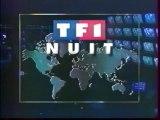TF1 - 29 Août 1993 - Jingle Pub, Bande annonce, début JT Nuit