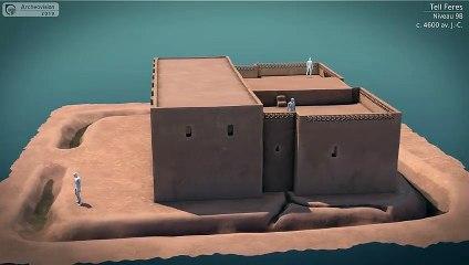 L'évolution du Grand Bâtiment de Tell Feres_(Niveaux 9-8)