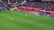06/03/16 : Ousmane Dembélé (45') : Rennes - Nantes (4-1)