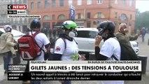 Incidents à Toulouse lors de la manifestation des Gilets Jaunes - Samedi 15 juin 2019