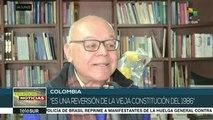 Colombia: impulsan recolección de firmas para eliminar la JEP