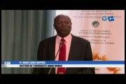 RTG/Ouverture du colloque international pluridisciplinaire sur l'Afrique et le monde à Libreville en hommage au Pr. Gilbert Zue Nguema