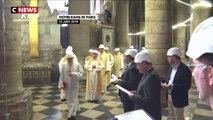 Notre-Dame de Paris : première messe deux mois après l'incendie