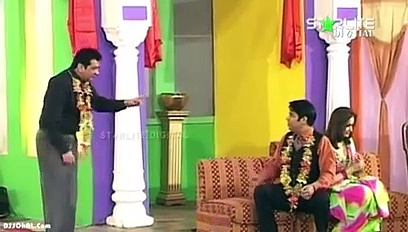 Zafri Khan  New Pakistani Stage Drama Full Comedy Funny Clip in youtube