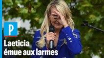 Laeticia Hallyday : «Les jours me paraissent encore sans fin et amers»